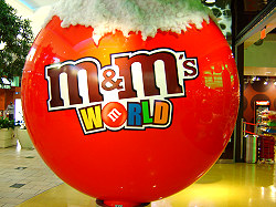 m & m Store in der Florida Mall