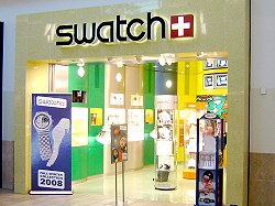 swatch Store in der Florida Mall